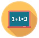 Icono funciones y fórmulas