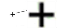 Cursor Excel cruz negra de arrastre