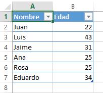 Datos de edad