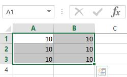 Rango de Celdas de Excel